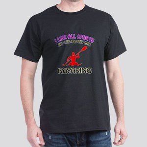 Kayaking Design Dark T-Shirt