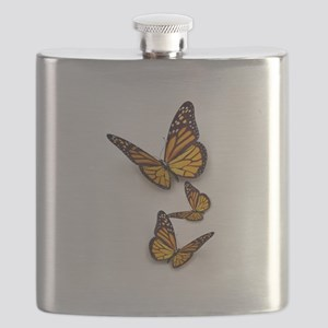 Monarch Butterlies Flask