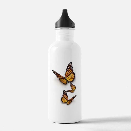 Monarch Butterlies Sports Water Bottle