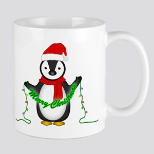 Penguin with lights Mug