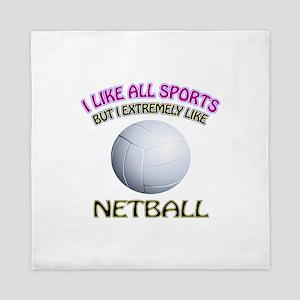 Netball Design Queen Duvet