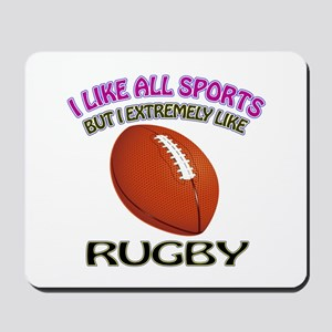 Rugby Design Mousepad