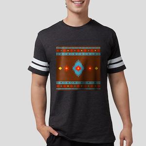 Native American Indian geometr Mens Football Shirt
