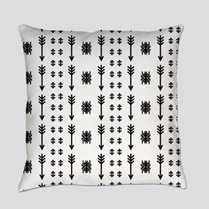 Native American Indian vintage ret Everyday Pillow