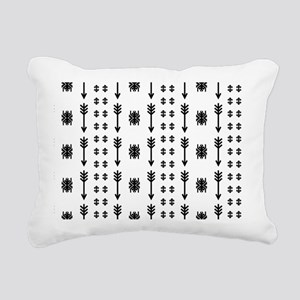 Native American Indian v Rectangular Canvas Pillow