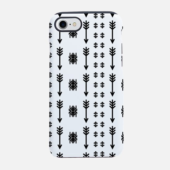 Native American Indian vintage iPhone 7 Tough Case
