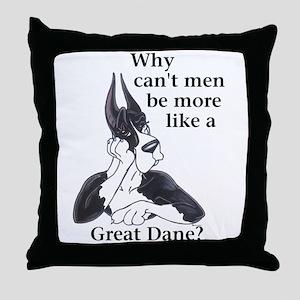 C Mtl Can't Men Throw Pillow