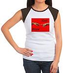 iGod Red Women's Cap Sleeve T-Shirt