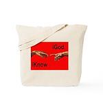 iGod Red Tote Bag