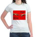 iGod Red Jr. Ringer T-Shirt