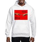 iGod Red Hooded Sweatshirt