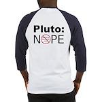Pluto vs. IAU Two Sided Baseball Jersey