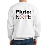 Pluto vs. IAU Two Sided Sweatshirt
