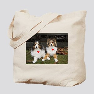 You and Me, forever Tote Bag