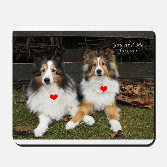 You and Me, forever Mousepad