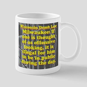 Wisconsin Dumb Law 009 11 oz Ceramic Mug