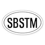 SBSTM Oval Sticker