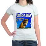 Lion of Judah 10 Jr. Ringer T-Shirt
