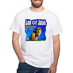 Lion of Judah 10 White T-Shirt