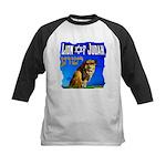 Lion of Judah 10 Kids Baseball Jersey