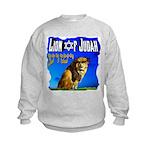 Lion of Judah 10 Kids Sweatshirt