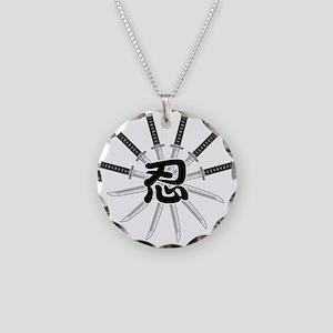 Shinobi Necklace Circle Charm