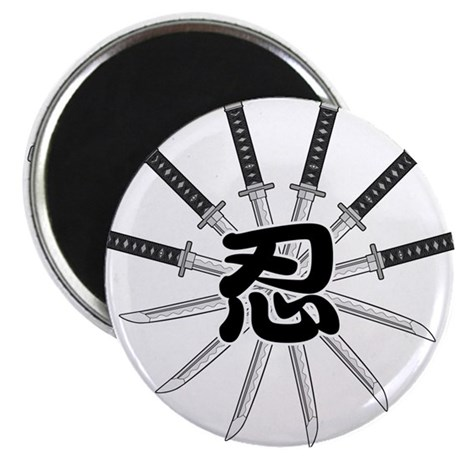 "Shinobi 2.25"" Magnet (100 pack)"