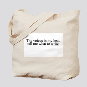 The voices in my head tell me Tote Bag
