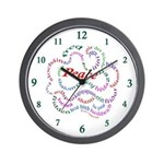 Fred-is-Peace Wall Clock