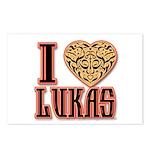 Lukas Postcards (Package of 8)