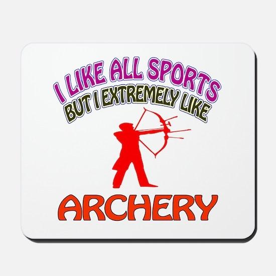 Archery Design Mousepad