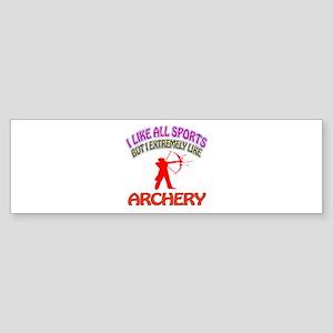 Archery Design Sticker (Bumper)