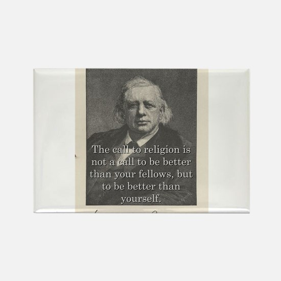 The Call To Religion - H W Beecher Magnets