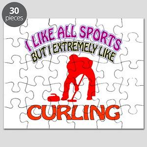 Curling Design Puzzle