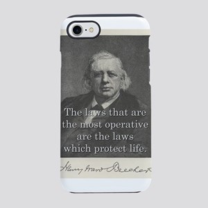 The Laws That Are The Most - H W Beecher iPhone 7