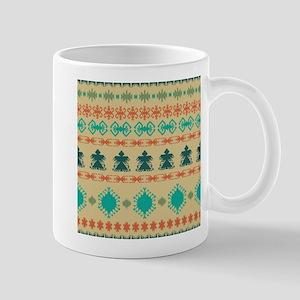 Native American Indian design vintage retro e Mugs