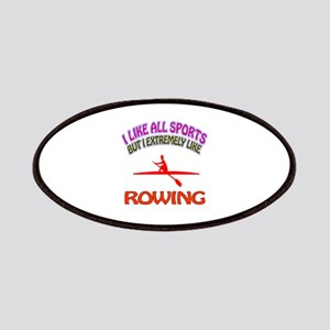Rowing Design Patches
