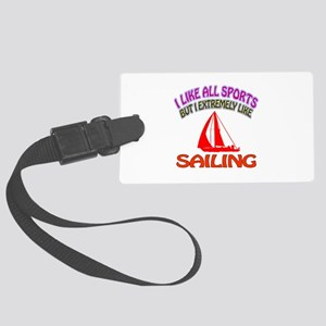 Sailing Design Large Luggage Tag