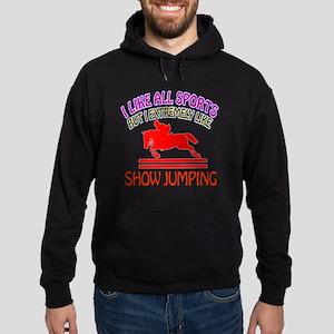 Show Jumping Design Hoodie (dark)