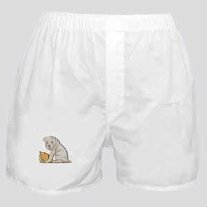 Sharpei with Shell Boxer Shorts