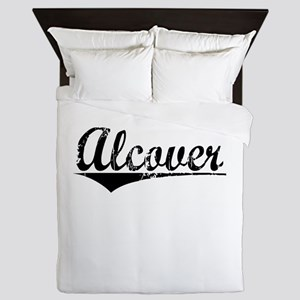 Alcover, Aged, Queen Duvet