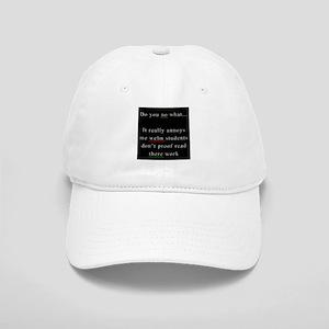 Proof Read BLACK Cap