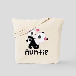 Aunt Panda Bear Tote Bag