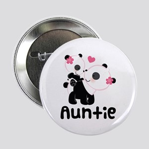 "Aunt Panda Bear 2.25"" Button"