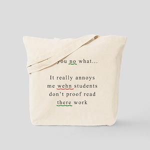 Proof Read Tote Bag