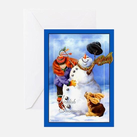 Basset Christmas Greeting Cards (Pk of 10)