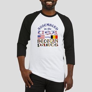 USA / Belgian Parts Baseball Jersey