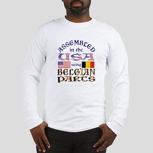 USA / Belgian Parts Long Sleeve T-Shirt