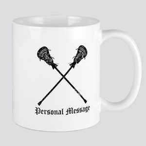 Personalized Lacrosse Sticks Mug