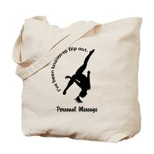 Personalize I Flip Out Tote Bag